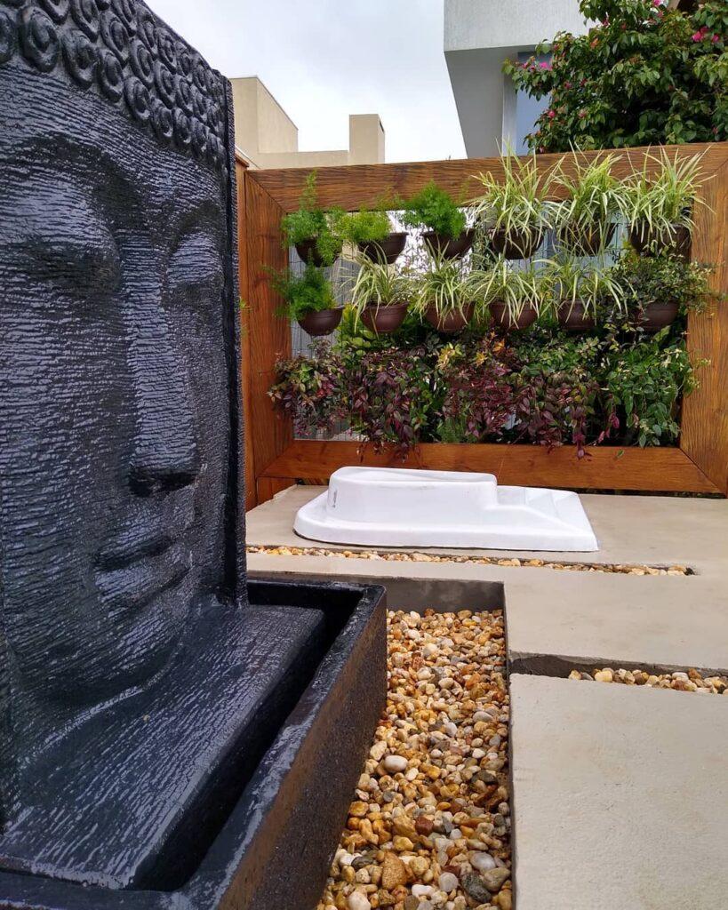 Jardim vertical zen