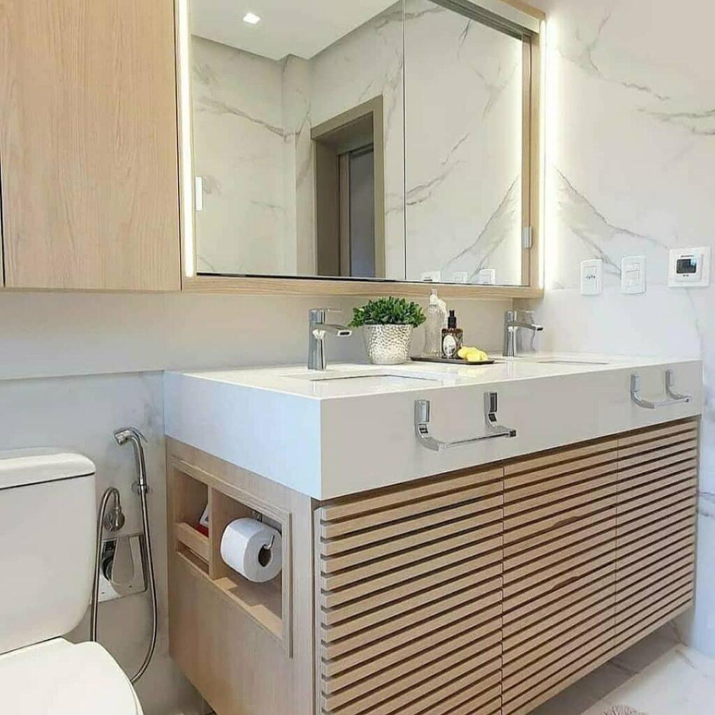 Móvel planejado para banheiro